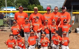 Hunter Summer Classic Tball Champions