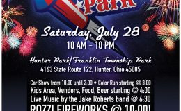 Sparks in the Park July 28