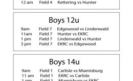 Hunter Summer Classic 2019 Saturday Schedule